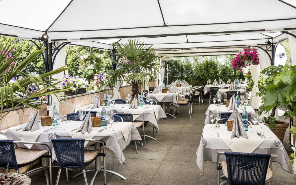 terrasse - Biergarten - Restaurant-Darmstadt