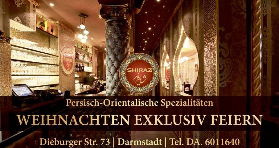 Restaurant Shiraz Darmstadt   Silvester Gala Diner