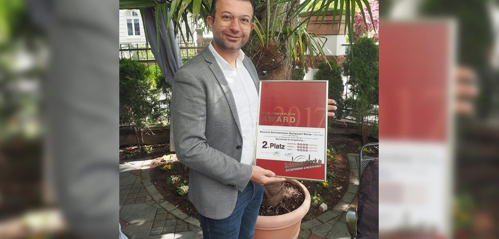 Nima Ghamari | Restaurant Shiraz Platz 2 - Schlemmerblock award